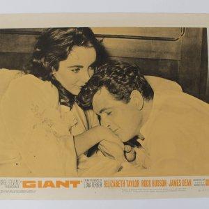 The Giant Movie Lobby Card R-63/66 Dean, Hudson and Taylor
