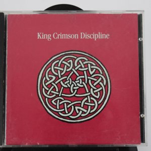 Tony Levin and Adrian Belew Signed King Crimson Discipline Cd