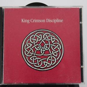 Tony Levin and Adrian Belew Signed King Crimson Discipline Cd