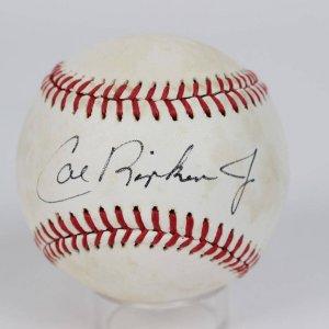 Baltimore Orioles - Vintage Cal Ripken, Jr. Signed Baseball