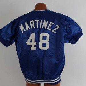 Los Angeles Dodgers - Ramon Martinez Game-Worn Pullover Warm-up Jacket