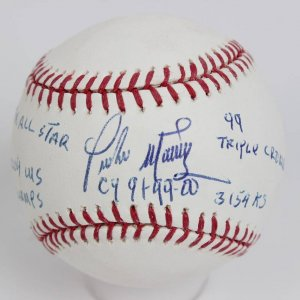 Pedro Martinez Signed Cy 91,99,00, 99 Triple Crown, .3154 RS, 8X All Star, 2004 WS Champs