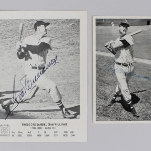 Boston Red Sox Ted Williams 5x7 Photos