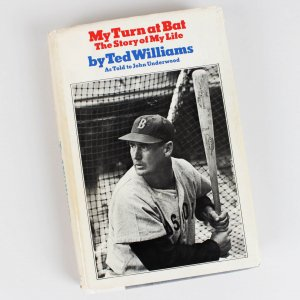 """Boston Red Sox Ted Williams Signed """" My Turn at Bat The Story of My Life """" Book"""