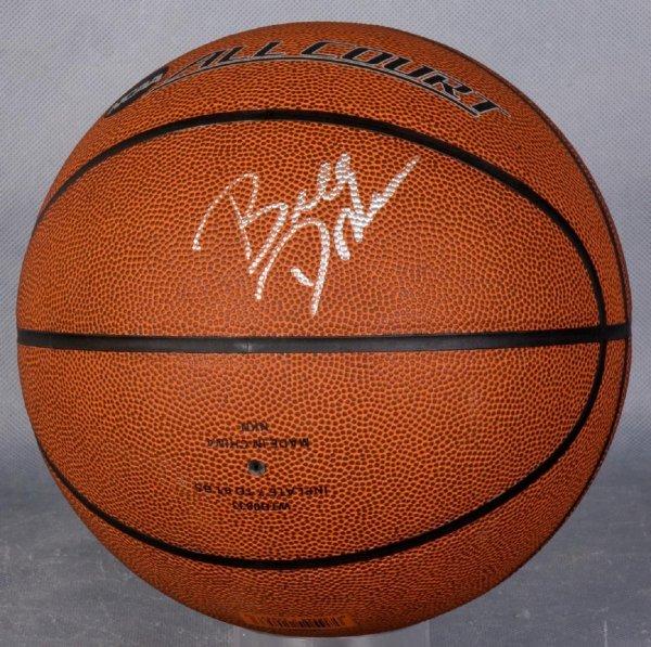 Oklahoma City Thunder Coach Billy Donovan Signed Basketball
