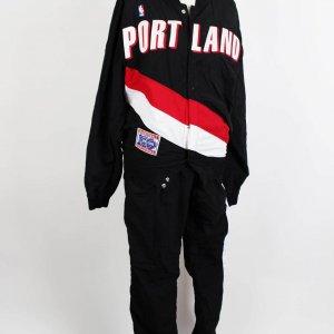 1991-92 Portland Trail Blazers - Danny Ainge Game- Worn Warm Up Shooting Jacket & Pants