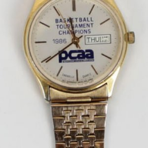 1986 UNLV Basketball Tournament Champions PCAA Watch