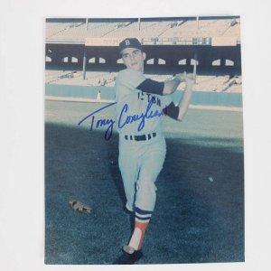 Boston Red Sox Tony Conigliaro Signed 8x10 Color Photo