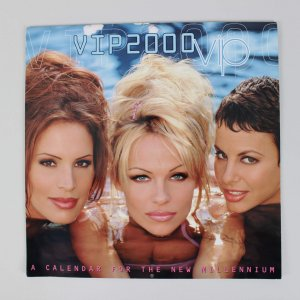 Pamela Anderson Signed VIP 2000 Calendar