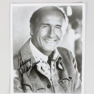 Henry Mancini Signed 8x10 Photo
