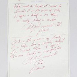 Muhammad Ali Hand Written Poems From Zurich