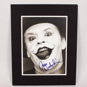 "Jack Nicholson as ""The Joker"" Signed 11x15 Photo"