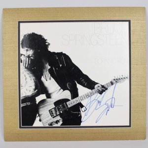Bruce Springsteen Signed Born to Run Album