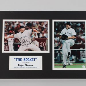 New York Yankees Roger Clemens Signed 8x10 Photo