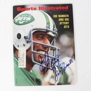 1972 New York Jets - Joe Namath Signed