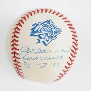 "Inscribed ""World Champs '96 '98 '99"" OWS Baseball"