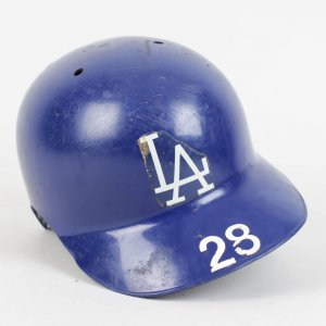 Los Angeles Dodgers Pedro Guerrero Game-Used Helmet