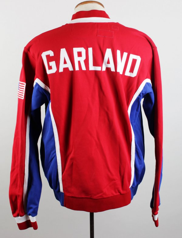 90-91 Los Angeles Clippers Winston Garland Game-Worn Warm-Up Jacket