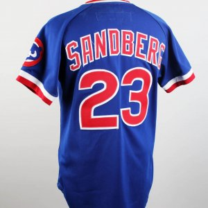 1984 Chicago Cubs Ryan Sandberg Game-Worn Jersey