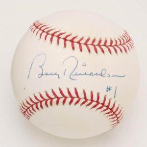 "Yankees - Bobby Richardson Signed, Inscribed ""#1"" Baseball (PSA/DNA COA)"