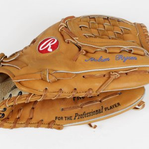 1993 Texas Rangers Nolan Ryan Game-Used Glove