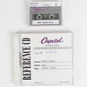 "Rare Tupac Reference Cd - "" Runnin "" & Digital Audio Tape"