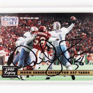 1994 Kansas City Chiefs Derrick Thomas Signed Upper Deck Card