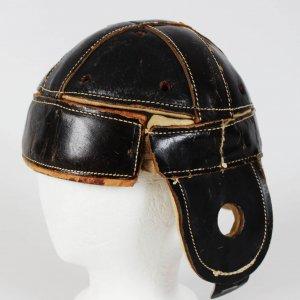 1928 All-American University of Minnesota - Minneapolis Red Jackets NFL George Gibson Game-Worn Leather Helmet