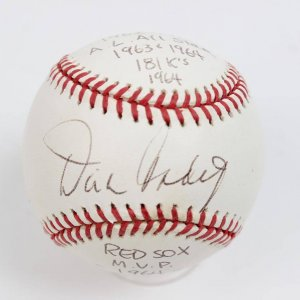 1960s Boston Red Sox Pitcher - Dick Radatz Single Signed & Inscribed Baseball