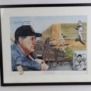 """Boston Red Sox - Ted Williams """"End of an Era"""" Signed"""