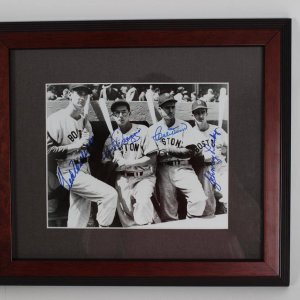 Boston Red Sox 8x10 Photo Signed by Ted Williams