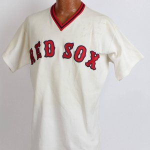 Boston Red Sox - Ted Williams Spring Training Coaches Jersey Signed & Inscribed to Marciano's Sporting Goods