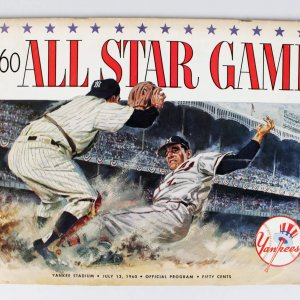 1960 Boston Red Sox Ted Williams Signed All-Star Game Program