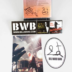 Bill Ward Signed CD Single Solo and Ads played charity for 911