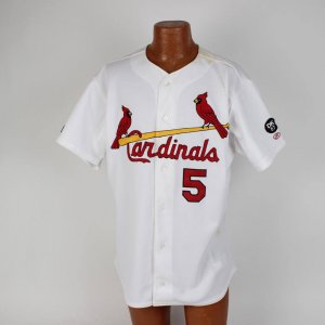 2002 St. Louis Cardinals - Albert Pujols Game-Worn Used