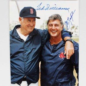 Boston Red Sox Ted Williams & Carl Yastrzemski Signed 8x10 Photo