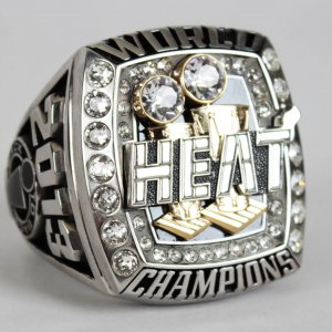 2013 Miami Heat World Championship Jostens Salesman Sample Oversized Ring (Originated from Ray Allen with Provenance LOA)