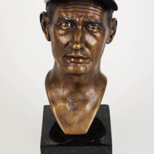 Boston Red Sox Ted Williams Bronze Statue by Artist Armand LaMontagne