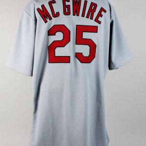 1998 St. Louis Cardinals - Mark McGwire Game-Worn Jersey