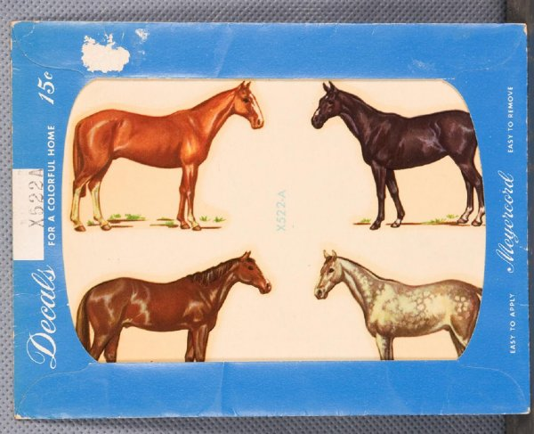 Horse Decals In Original Packaging