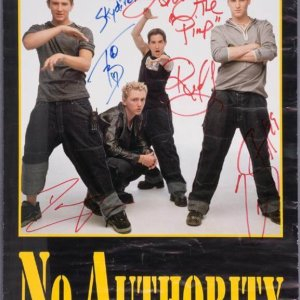 No Authority Signed Poster