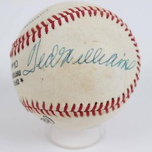 "New York Giants ""Bill Terry & Red Sox Ted Williams ) ONL (Feeney) Baseball"