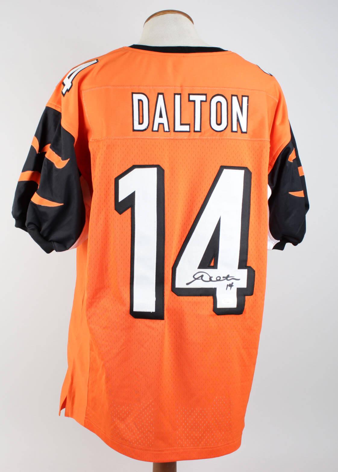 Andy Dalton Signed Jersey Bengals - COA JSA