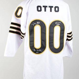 Raiders Jim Otto Signed Jersey (COA)