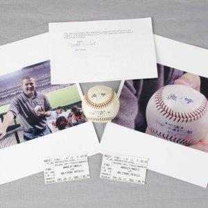 Cal Ripken Jr Homerun Ball Caught By Fan 7/27/2001 @ Anaheim Angels