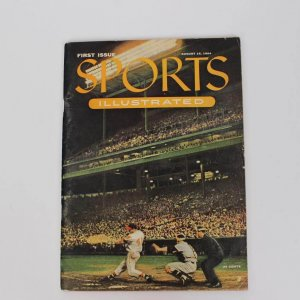 "First Issue of ""Sports Illustrated"" w/ 27 Card Insert"