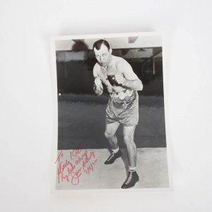 Boxing Great - Jack Sharkey Signed