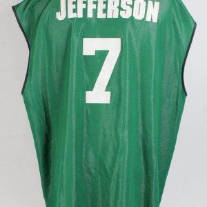 Boston Celtics - Al Jefferson Game-Worn Las Vegas NBA Summer League Reversible Jersey