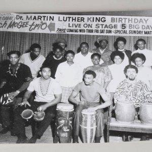 Teenie Harris 11x14 Photo - Behind the Scenes of Martin Luther King's Birthday Celebration