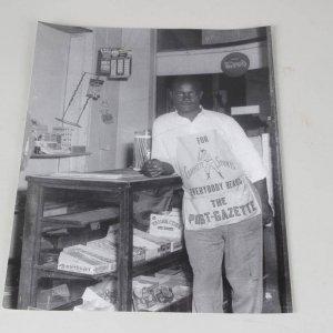 Teenie Harris 11x14 Photo - Man at the Corner Store
